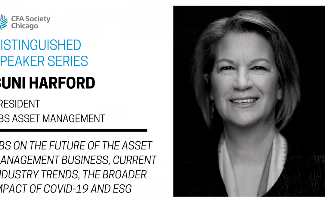 Distinguished Speaker Series: Suni Harford, UBS Asset Management