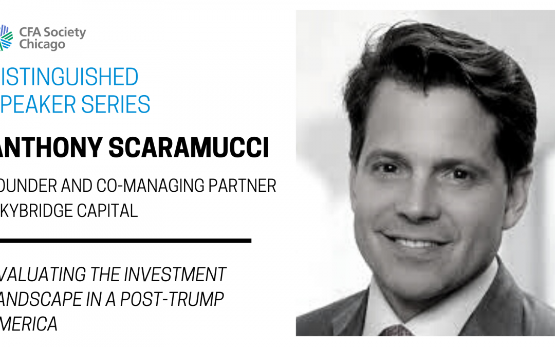 Distinguished Speaker Series: Anthony Scaramucci, Skybridge Capital