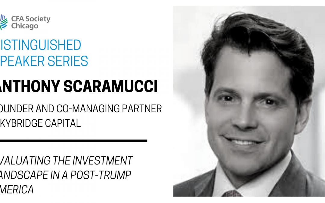 Distinguished Speaker Series: Anthony Scaramucci, Skybridge Capital