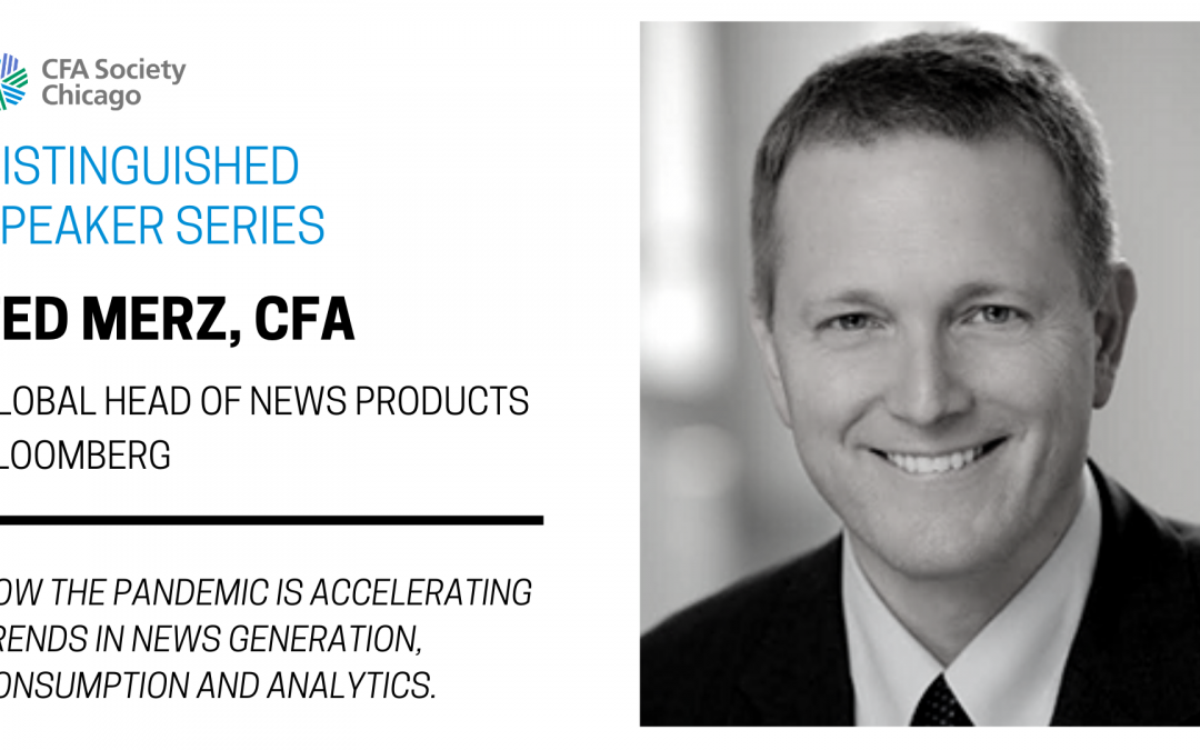 Distinguished Speaker Series: Ted Merz, CFA, Bloomberg