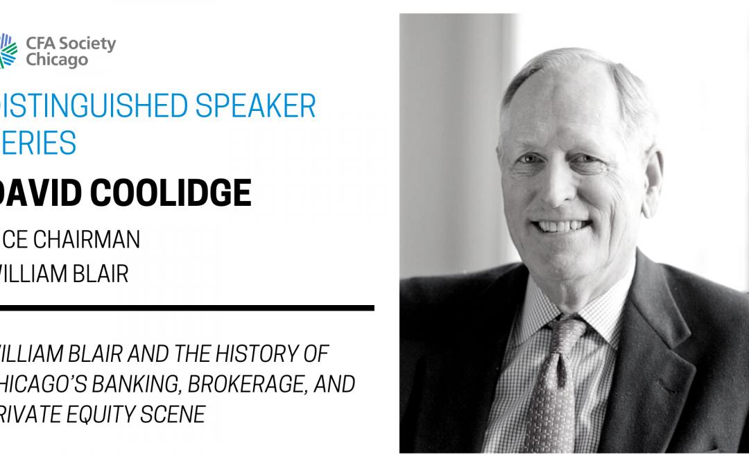 Distinguished Speaker Series: David Coolidge